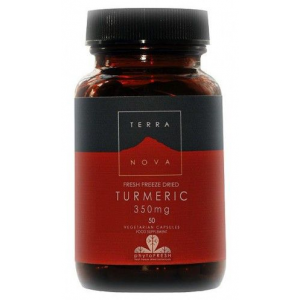 Curcuma 350 mg · TerraNova · 50 cápsulas