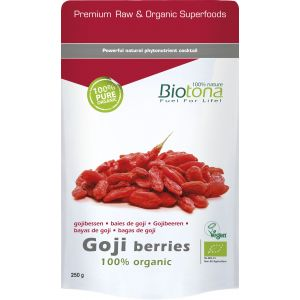 Bayas de Goji · Biotona · 200 gramos