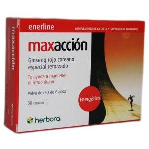 Maxacción · Herbora · 30 cápsulas