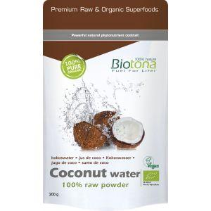 Coconut Water · Biotona · 200 gramos