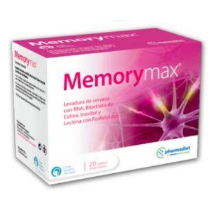 Memory Max · Pharmadiet · 20 sobres