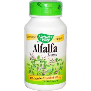 Alfalfa Hojas BIO · Nature's Way · 100 cápsulas