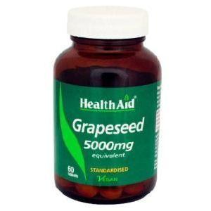 Extracto de Semilla de Uva · Health Aid · 60 comprimidos