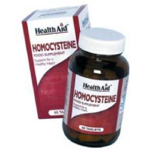 Homocisteina Complex · Health Aid · 60 comprimidos