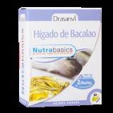 Hígado de Bacalao · Drasanvi · 60 perlas