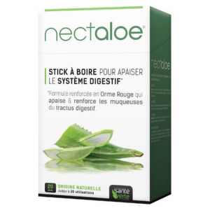 Nectaloe · Sante Verte · 20 sticks