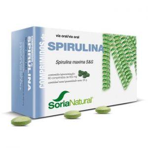 Spirulina · Soria Natural · 60 comprimidos