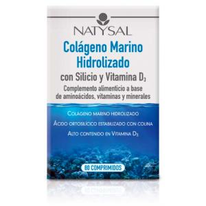 Colágeno Marino con Silicio · Natysal · 80 comprimidos