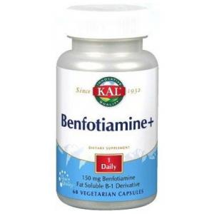 Benfotiamine Plus · KAL · 60 cápsulas