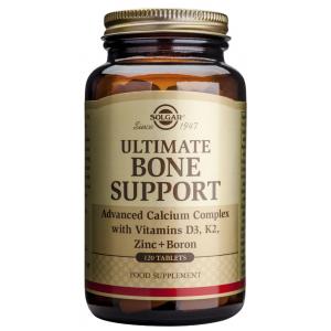 Ultimate Bone Support · Solgar · 120 comprimidos