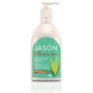 Loción Corporal de Aloe Vera 70% · Jasön · 454 grs