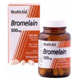 Bromelina 500 mg · Health Aid · 30 cápsulas
