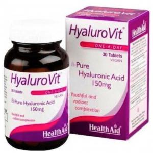 HyaluroVit · Health Aid · 30 comprimidos