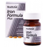 Iron Formula Plus (Hierro Complex) · Health Aid · 100 comprimidos