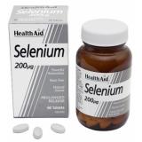 Selenio 200 mcg · Health Aid · 60 comprimidos