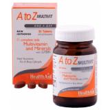 Multi A-Z · Health Aid · 90 comprimidos