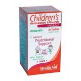 Multinutriente Infantil · Health Aid · 30 comprimidos