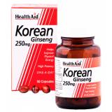 Ginseng Coreano · Health Aid · 50 cápsulas