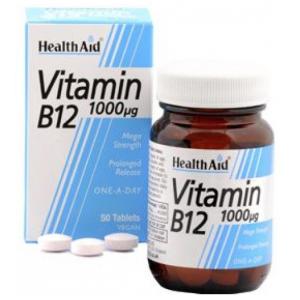 Vitamina B12 1.000 mcg · Health Aid