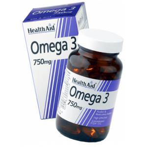 Omega 3 750 mg · Health Aid