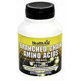 BCAA (Aminoácidos Ramificados) · Health Aid · 60 comprimidos