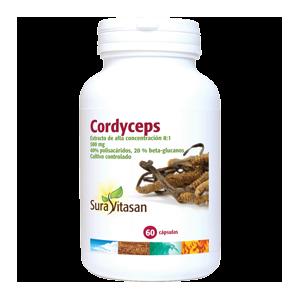 Cordyceps · Sura Vitasan · 60 cápsulas