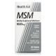 MSM 1.000 mg · Health Aid · 90 comprimidos