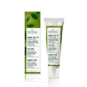 Crema Facial Árbol del Té · Natysal · 50 ml