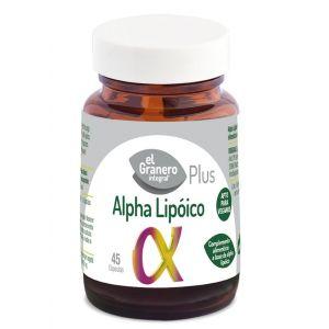 Alpha Lipoico Forte · El Granero Integral · 45 cápsulas
