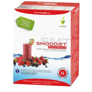 Smoodiet Rojo · Nova Diet · 6 sobres