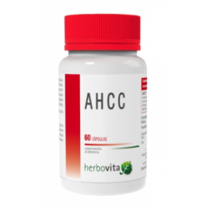 AHCC · Herbovita · 60 cápsulas