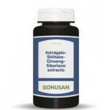 Astragalo-Shiitake-Ginseng · Bonusan · 90 cápsulas
