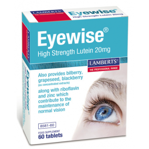 Eyewise · Lamberts · 60 comprimidos