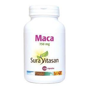 Maca 750 mg · Sura Vitasan · 120 cápsulas