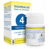 Tegorsales nº 4 Kalium chloratum · Tegor · 20 gramos