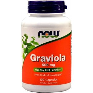 Graviola · NOW · 100 cápsulas