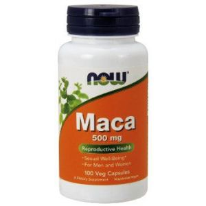 Maca Andina 500 mg · NOW · 100 cápsulas