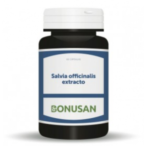 Salvia Officinalis Extracto · Bonusan · 60 cápsulas