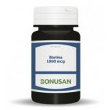 Biotina 1.000 mcg · Bonusan · 60 comprimidos