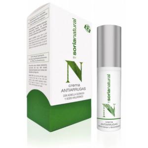 Crema Facial Antiarrugas · Soria Natural · 30 ml