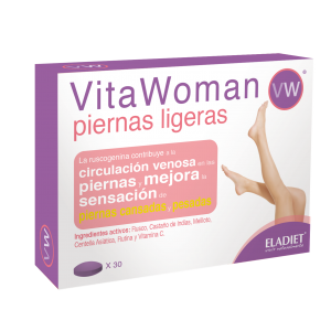 VitaWoman Piernas Ligeras · Eladiet · 30 comprimidos
