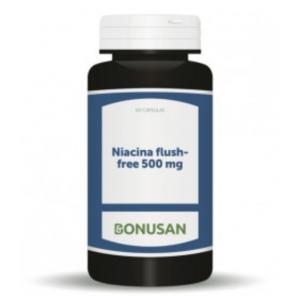 Niacina Flush-Free 500 mg · Bonusan · 60 cápsulas