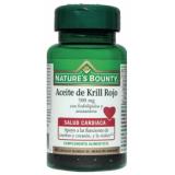 Aceite de Krill Rojo 500 mg · Nature's Bounty · 40 perlas