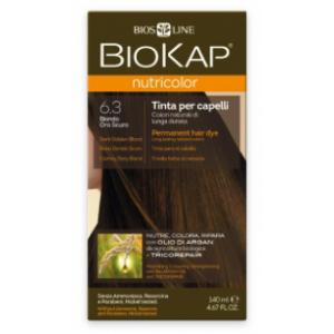 Biokap Nutricolor 6.3 Rubio Dorado Oscuro · Biokop · 140 ml