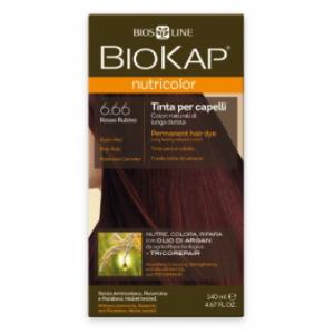 Biokap Nutricolor 6.66 Rojo Rubi · Biokap · 140 ml