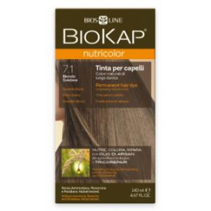 Biokap Nutricolor 7.1 Rubio Sueco · Biokap · 140 ml