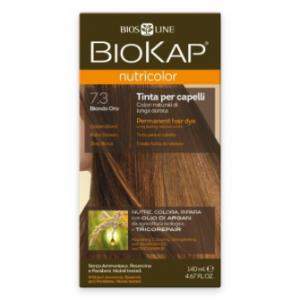 Biokap Nutricolor 7.3 Rubio Dorado · Biokap · 140 ml
