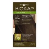 Biokap Nutricolor Delicato 5.34 Castaño Miel Claro · Biokap · 140 ml
