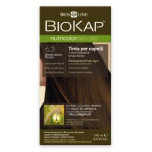 Biokap Nutricolor Delicato 6.3 Rubio Dorado Oscuro · Biokap · 140 ml