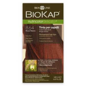 Biokap Nutricolor Delicato 8.64 Rojo Tiziano · Biokap · 140 ml
